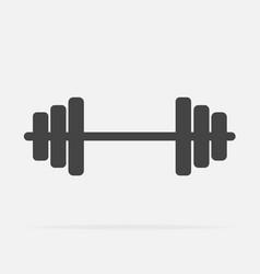 Image dumbbells dumbbell for fitness vector