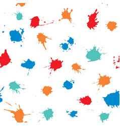 ink splash collection hand drawn vector image