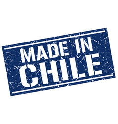 Made in chile stamp vector