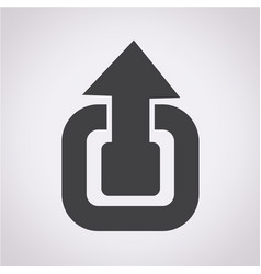 Scale icon expand full screen vector