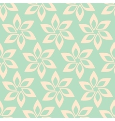 Simple flower seamless pattern vector