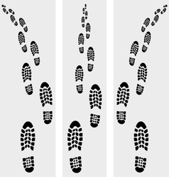 Trail shoe vector