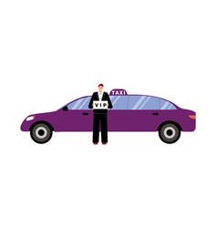 Vip taxi vector