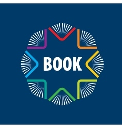 sign book vector image vector image