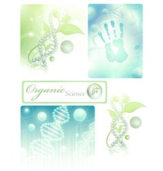 science collection vector image