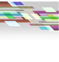 abstract background with colourful straight lines vector image
