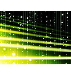 abstract tropic rain vector image