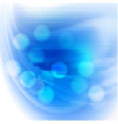 bright polygon background vector image