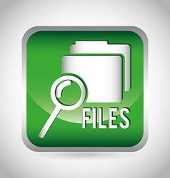 files icon vector image