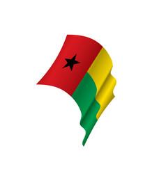Guinea bissau flag vector
