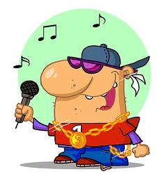 Hip hop cartoon vector