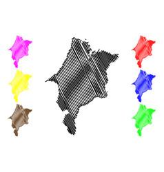 Maranhao map vector