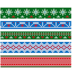 new year and christmas party flat style vector image