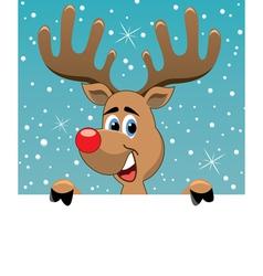 Rudolph deer vector