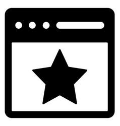 Website rating vector