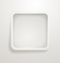 Abstract background of grey box vector image