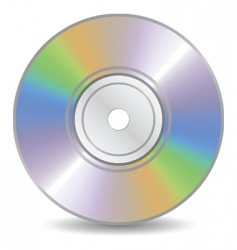 blank cd vector image vector image