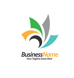 consulting logo concept vector image vector image