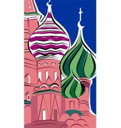 st basil church vector image