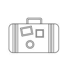 abstract beach object vector image