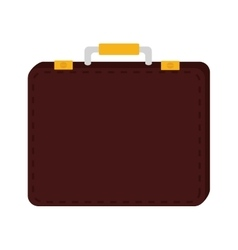 suitcase travel luggage business design vector image