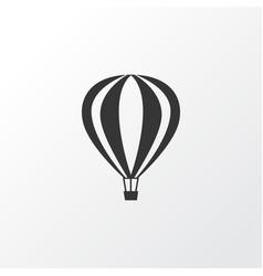 Air balloon icon symbol premium quality isolated vector