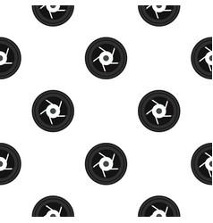 Objective pattern flat vector