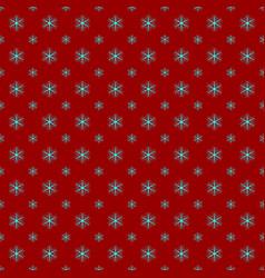 Retro simple stylized snowflake pattern wallpaper vector