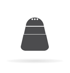 salt icon for web business finance and vector image
