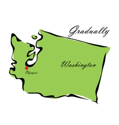 State of Washington vector