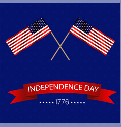 united states america independents day two vector image