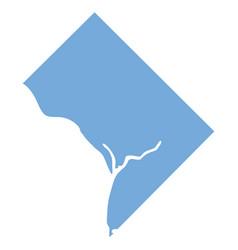 Washington state map vector