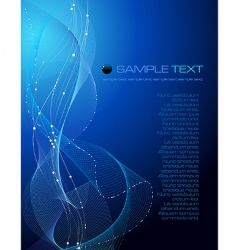 abstract composition vector image vector image