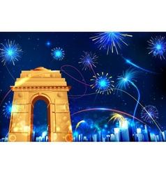 Celebration of india vector