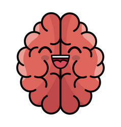 Brain storming character concept icon vector