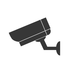 Cctv camera security technology icon vector