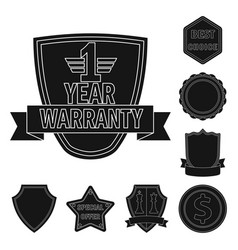 design emblem and badge symbol set of vector image