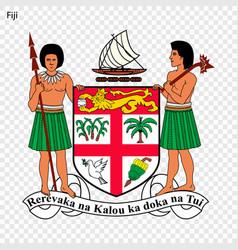 Emblem fij vector
