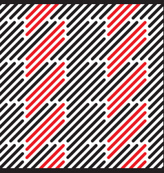 geometric stripes vector image
