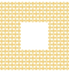 Rope Net Frame vector image
