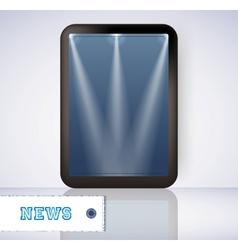 blank vertical billboards vector image