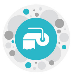 of cleanup symbol on hygienic vector image vector image
