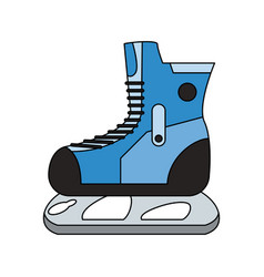 winter sports related icon image vector image vector image