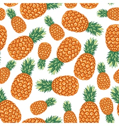 Ananas pattern vector