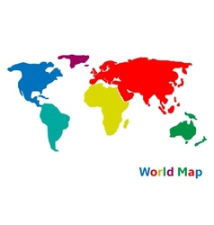Colorful world vector