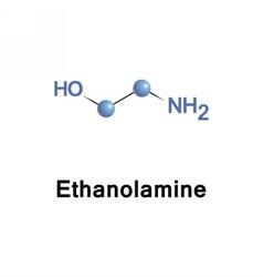 Ethanolamine amine and alcohol vector