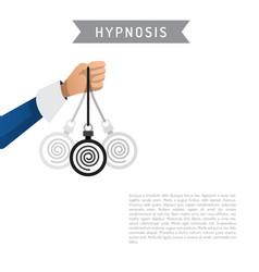 hypnosis cartoon vector image