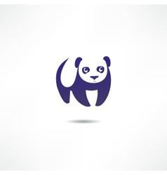 Panda Bear Logo vector image
