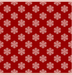 seamless geometric winter snow pattern wallpaper vector image