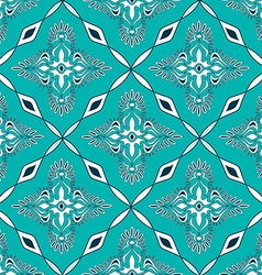Seamless pattern of Moroccan mosaic vector